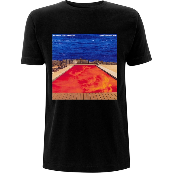 Red Hot Chili Peppers - Californication Unisex Large T-Shirt - Black
