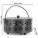 Metal Incense Holder | Insect Repellent | Home Fragrance | M&W Black - Image 8