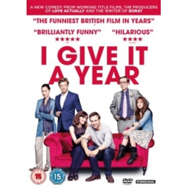 I Give It A Year 2013 DVD