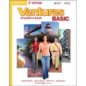 Ventures Basic Student's Book with Audio CD by Dennis Johnson, Sylvia Ramirez, K. Lynn Savage, Gretchen Bitterlin, Donna Price (Mixed media product, 2013)