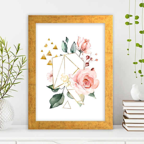 AC1070052959 Multicolor Decorative Framed MDF Painting