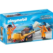 Playmobil City Action Aircraft Tug with Ground Crew