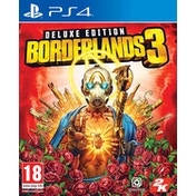 Borderlands 3 Deluxe Edition PS4 Game (Gold Weapon Skins & Trinket DLC)