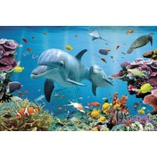 Tropical Underwater Ocean Poster