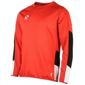 Sondico Venata Long Sleeve Jersey Adult Small Red/White/Black