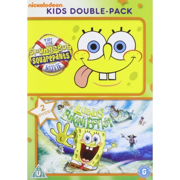 Spongebob Squarepants the Movie Legends Of Bikini Bottom Double DVD