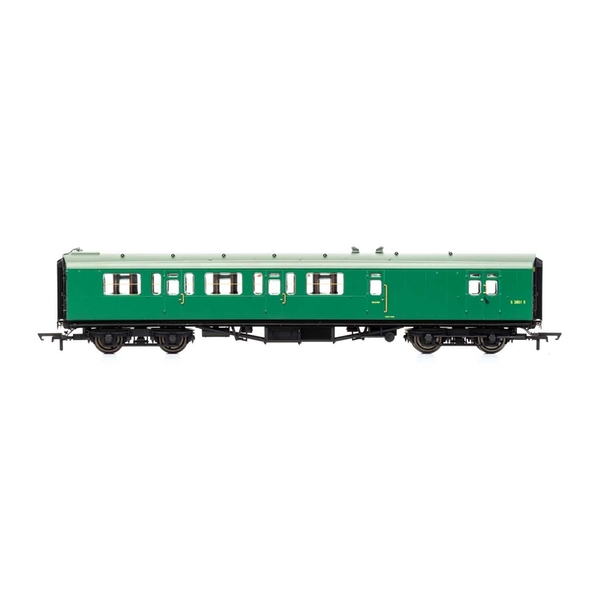 Hornby BR Bulleid 59' Corridor Brake Third S2851S Era 4 Model Train