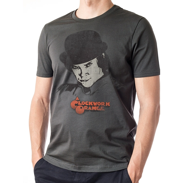 Clockwork Orange - Alex Unisex Small T-shirt - Grey