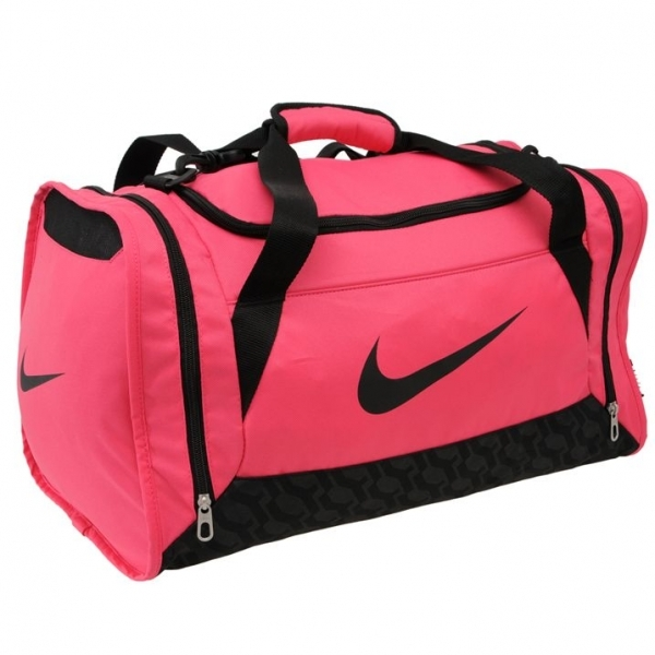 Hey! Stay with us... Nike Brasilia Small Grip Bag Pink d3e2263265f1c