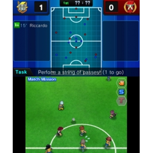 Inazuma Eleven GO Shadow 3DS Game - Image 4