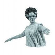 Universal Monsters Black and White Bride of Frankenstein Bust Bank