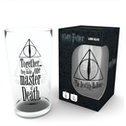 Harry Potter Deathly Hallows Large Glass