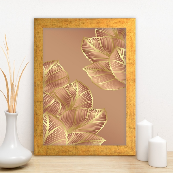 AC11102547442 Multicolor Decorative Framed MDF Painting