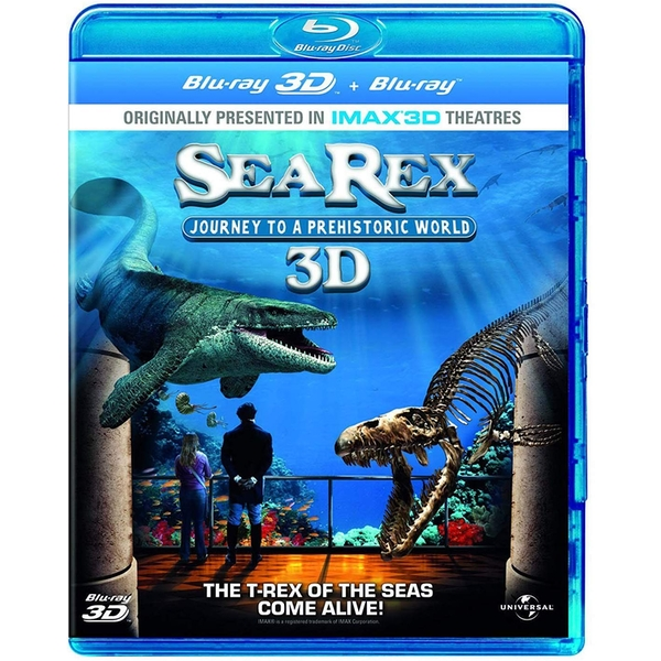 Sea Rex - Journey To A Prehistoric World 3D+2D Blu-Ray