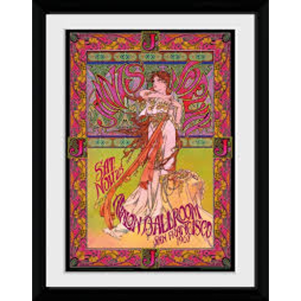 Janis Joplin - Avalon Masse Collector Print