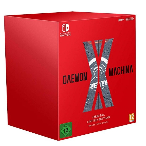 Daemon X Machina Orbital Limited Edition Nintendo Switch Game