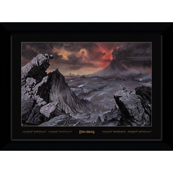 Lord Of The Rings Mount Doom Collector Print