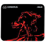 Asus CERBERUS MINI Gaming Mouse Pad, Black & Red, 250 x 210 x 2mm