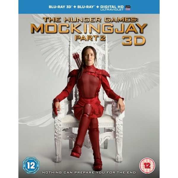 The Hunger Games: Mockingjay Part 2 Blu-ray 3D   Blu-ray   UV Copy