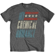 My Chemical Romance - Raceway Men's Large T-Shirt - Charcoal Grey