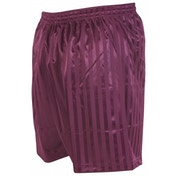 Precision Striped Continental Football Shorts 42-44 inch Maroon