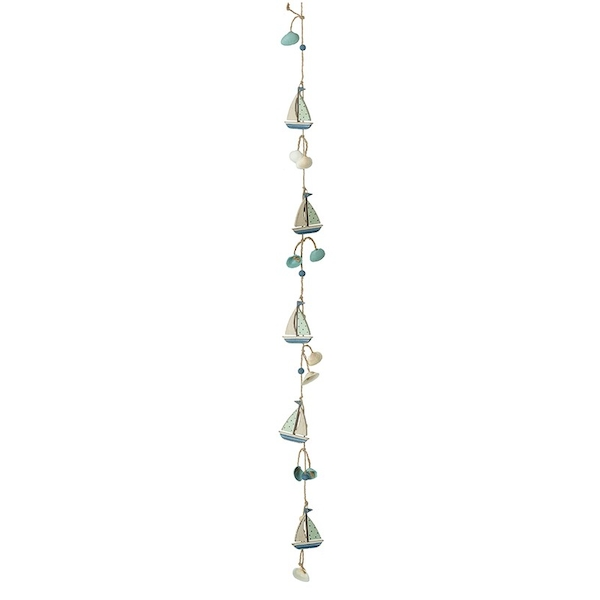 Boat And Fish Garland By Heaven Sends