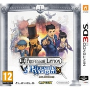Ex-Display Professor Layton vs Phoenix Wright Ace Attorney Game 3DS Used - Like New