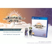 The Alliance Alive HD Remastered Awakening Edition PS4 Game