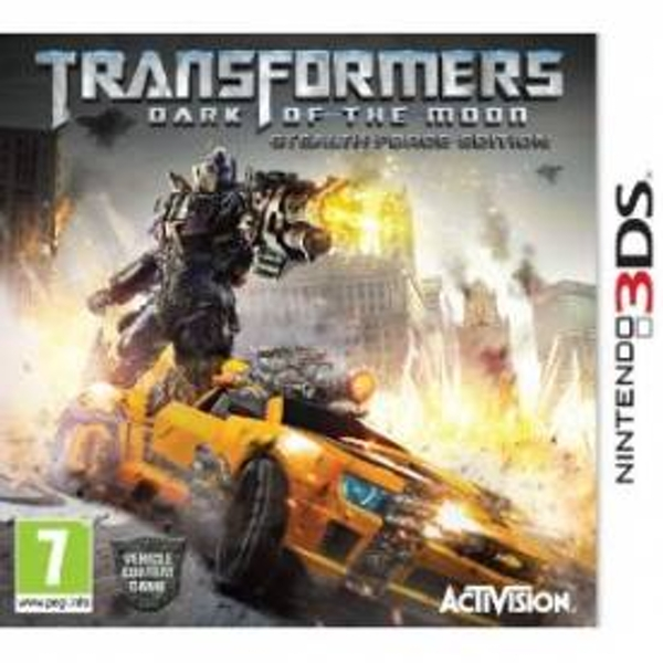 Transformers 3 III Dark Of The Moon Game 3DS