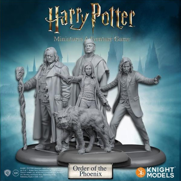 Harry Potter Miniatures Adventure Game Order of the Phoenix Expansion Board Game