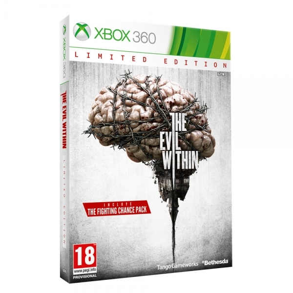 The Evil Within Game Limited Edition Xbox 360 Game