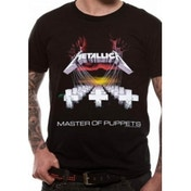 Metallica Master Of Puppets Unisex Large T-Shirt - Black