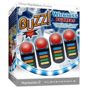 Buzz! Standalone Wireless Buzzers PS2 & PS3