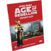 Star Wars Age of Rebellion Desperate Allies Board Game