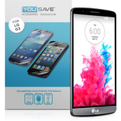 YouSave Accessories Motorola Moto G 3rd Gen Screen Protector - Clear