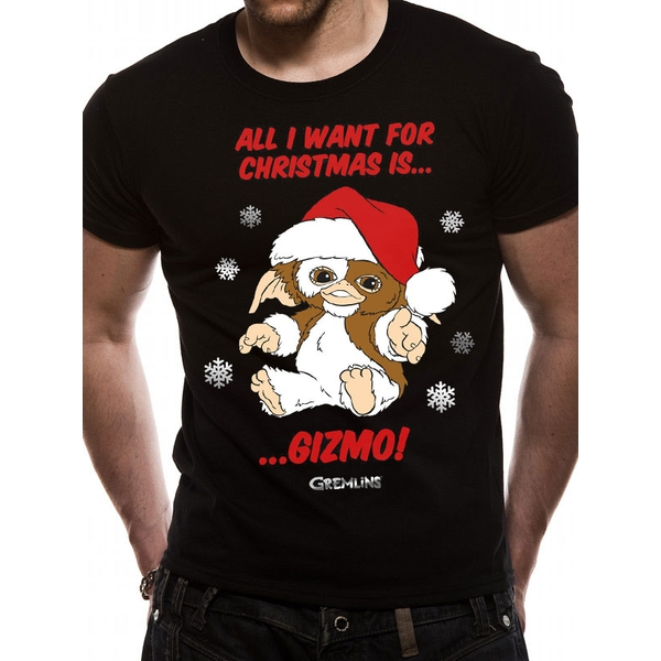 Gremlins - All I Want Is Gizmo Men's X-Large T-Shirt - Black