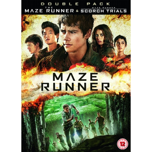 The Maze Runner The Scorch Trials DVD
