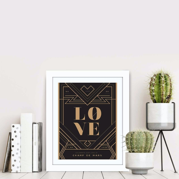 BCT-024 Multicolor Decorative Framed MDF Painting