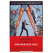 James Bond - For Your Eyes Only Postcard