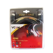 VCOM HDMI 1.4 (M) to HDMI 1.4 (M) 10m Black Retail Packaged Display Cable