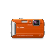 Panasonic DMC-FT30 Tough Camera Orange 16.1MP 4xZoom 2.7LCD 720pHD 25mm Waterproof