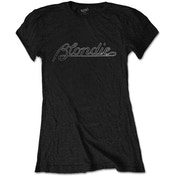 Blondie - Logo Women's Medium T-Shirt - Black