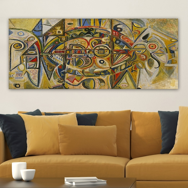 YTYMDRN145_50120 Multicolor Decorative Canvas Painting