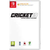 Cricket 19 The Official Game Of The Ashes Nintendo Switch Gane