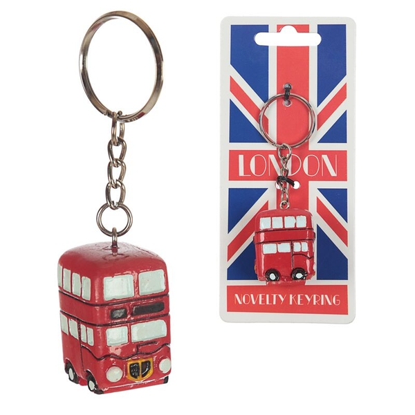 London Routemaster Bus Keyring