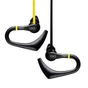 Veho VEP-005-ZS2 360 Water Resistant Sports Earphones with Ear Hooks and Flex Anti Tangle Cable Yellow/Black