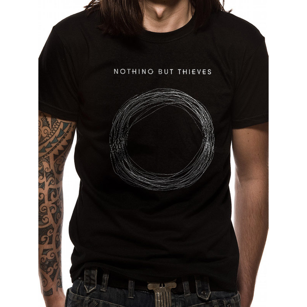 Nothing But Thieves - Logo Men's Small T-Shirt - Black