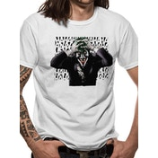 Batman - Sinister Joker Men's X-Large T-Shirt - White