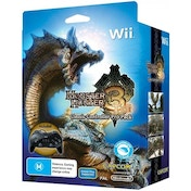 Monster Hunter 3 Tri Includes Classic Controller Pro Game Wii