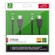 Speedlink Play & Charge USB to Micro-USB Cable Set for Xbox One